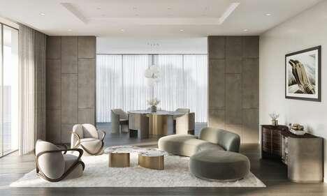 Stone-Inspired Veined Furniture