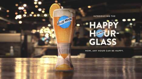 Sand Timer Happy Hour Glasses