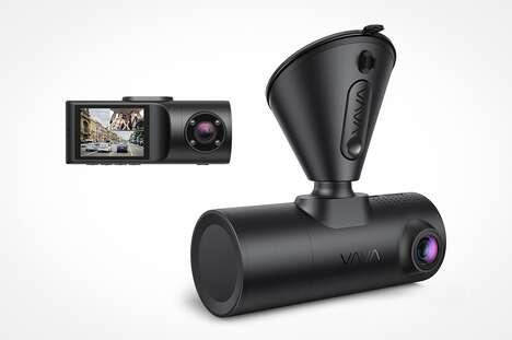 Dual-Sided HD Dash Cams