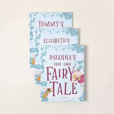 Personalized Fairytale Name Books