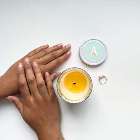Aromatic Skin-Caring Candles