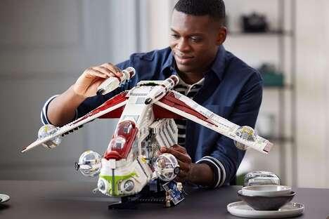 Detailed Sci-Fi Toy Kits