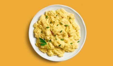 Legume-Based Vegan Eggs
