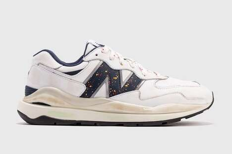 Chunky Worn-In Sneakers