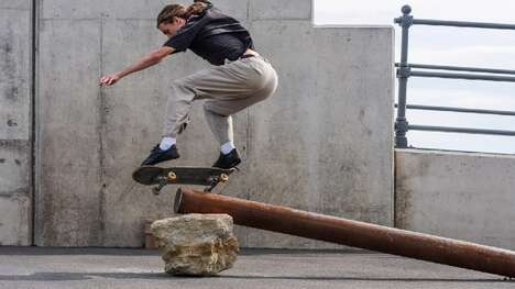 Skateboard Sculpture Installations