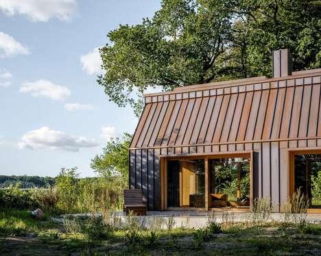 Copper-Clad Writer's Cabins