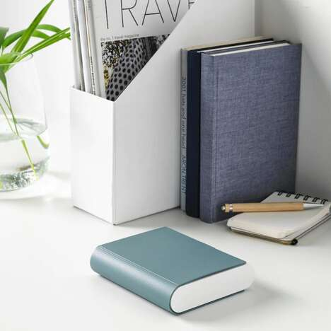 Book-Shaped Battery Chargers