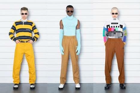 Experimental Fashion-Forward Streetwear