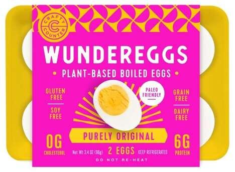 Plant-Based Boiled Eggs