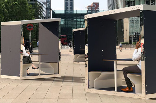 Eco-Friendly Outdoor Meeting Pods