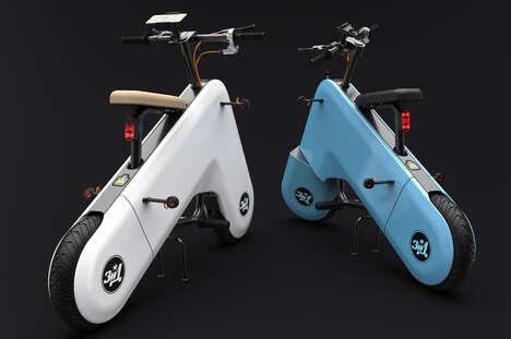 Futuristic Electric Scooter Designs