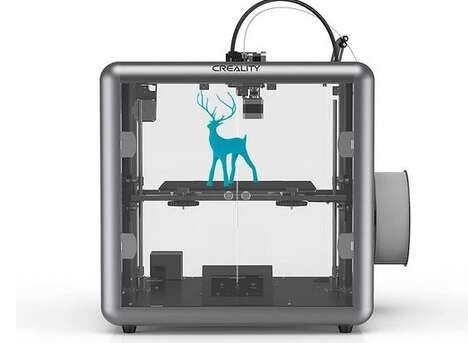 Silent Industrial-Grade 3D Printers