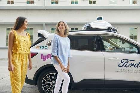 AI-Powered Autonomous Rideshare Services