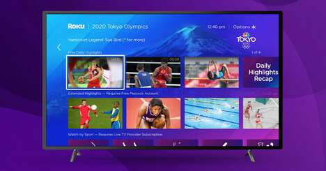 Immersive Olympic Streaming Experiences