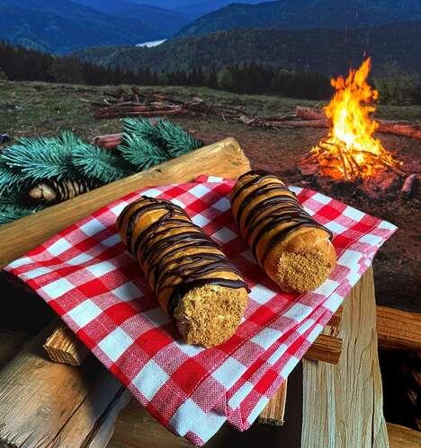 Smoky Chocolate Pastries