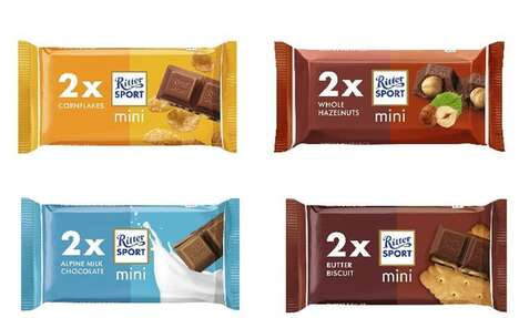 Mini Impulse Chocolate Bars