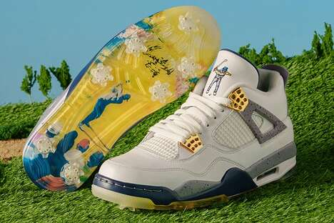 Basketball-Inspired Golf Shoes