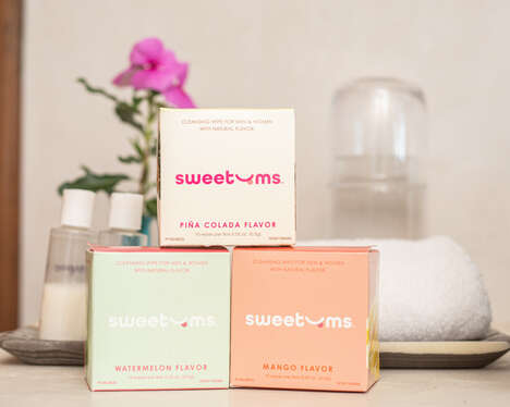 Flavored Intimate Wipes