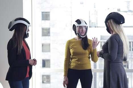 Helmet-Style Air Purifiers