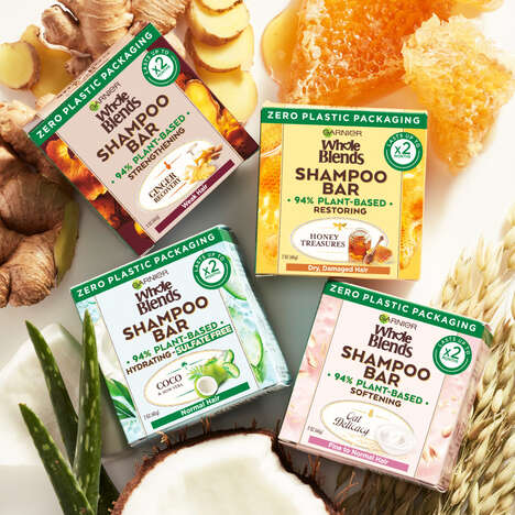 Biodegradable Shampoo Bars