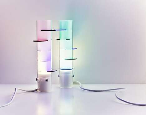 Multicolored Thought-Provoking Lighting