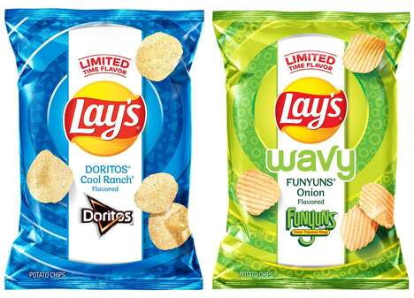 Crossover Potato Chips