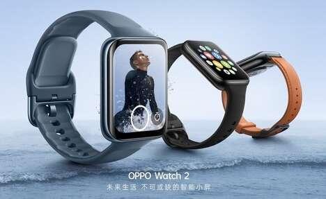 Advanced AMOLED Display Smartwatches