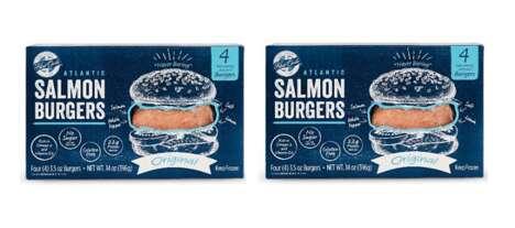 Four-Ingredient Salmon Burgers