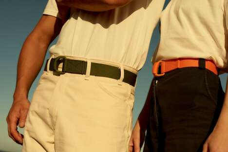 Ocean-Conscious Recycled Belts