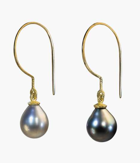 Artistic Imperfect Pearl Jewelry