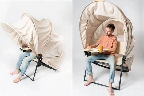 Retractable Personal Workstations