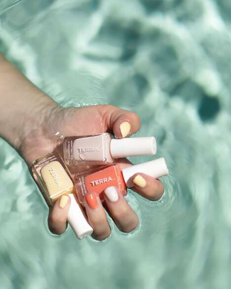 Chemical-Free Nail Polishes