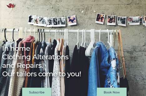On-Demand Clothing Alterations