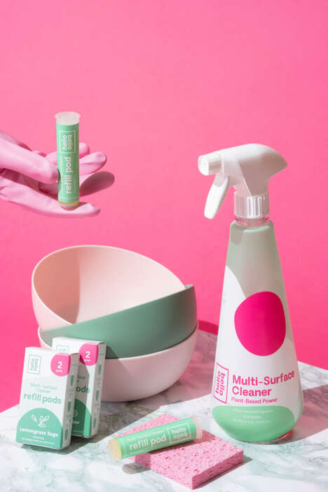 Plant-Based Cleaning Kits