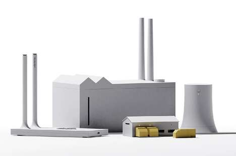 Miniature Model Desk Sets