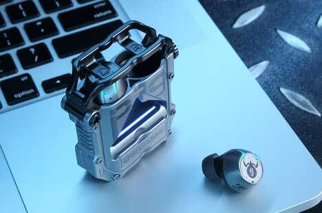 Sci-Fi-Inspired Headphones