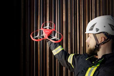 Thermal Imaging Firefighting Drones