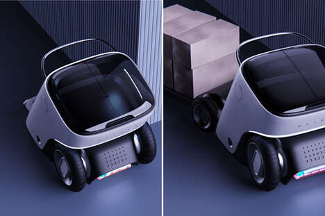 Trailer-Equipped Delivery Robots
