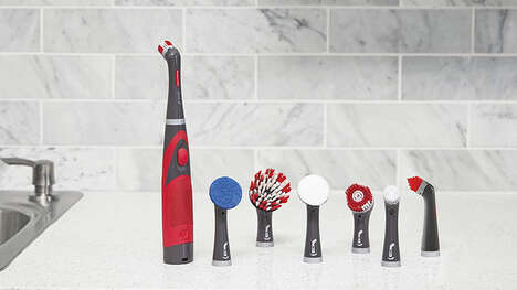Powered Handheld Cleaning Devices