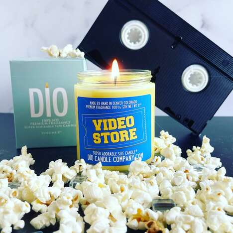 Nostalgic Retail Scented Candles