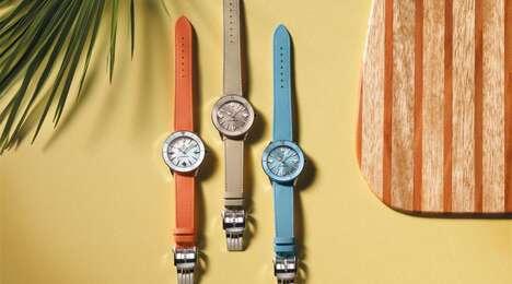 Summer Pastel Timepiece Capsules