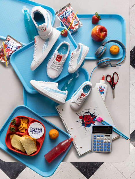 Iconic Beverage Brand Sneakers