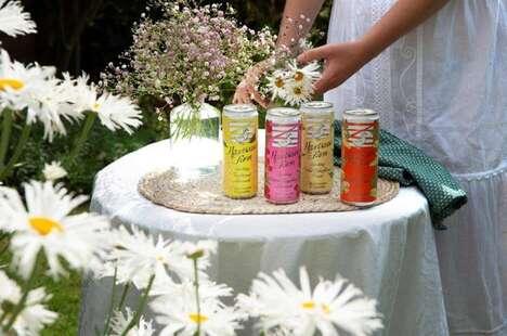 Heritage-Inspired Sparkling Beverages