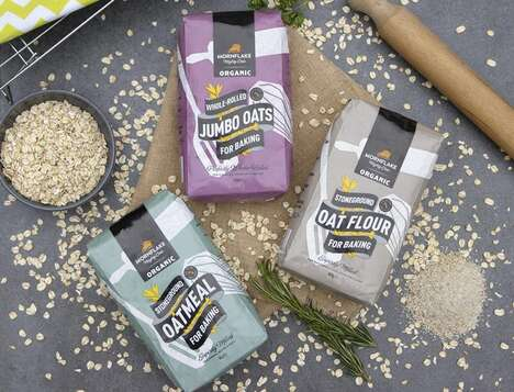 Oat-Rich Baking Products