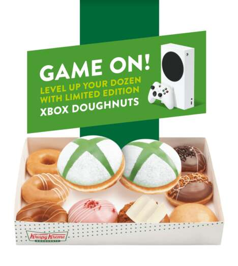 Gamer-Targeted Donuts