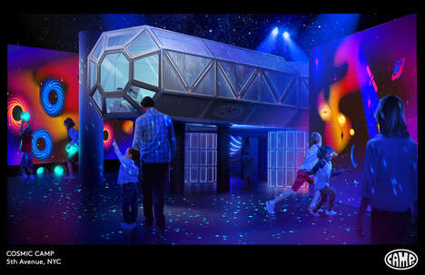 Space-Themed Adventure Experiences