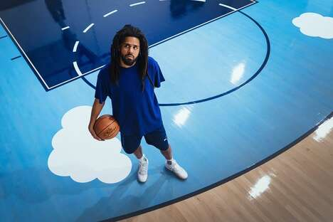 Rapper-Designed Basketball Shoes