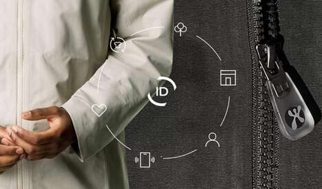 NFC-Enabled Zippers