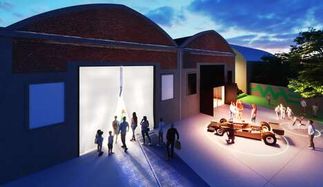 Carbon Fiber Museum Buildings