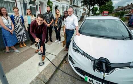 Unobtrusive EV Charging Systems